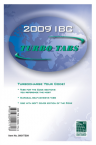 International Building Code Turbo Tabs 2009