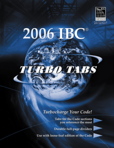 International Building Code Turbo Tabs 2006