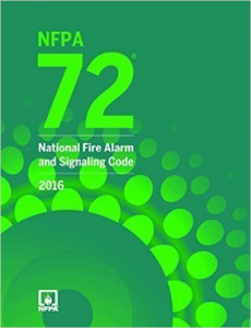 NFPA 72: National Fire Alarm and Signaling Code, 2016