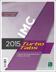 International Mechanical Code Turbo Tabs 2015