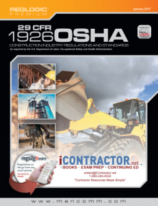 Code of Federal Regulations, 29 CFR Part 1926 (OSHA) 2017