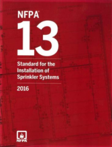 NFPA 13: Standard for the Installation of Sprinkler Systems, 2016 Edition