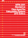 NFPA 2001:Standard on Clean Agent Fire Extinguishing Systems 2015